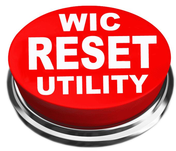 wic reset utility key